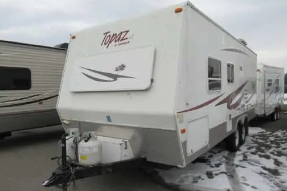 Topaz - The beautiful travel trailer!  in Fort-Saskatchewan, Alberta