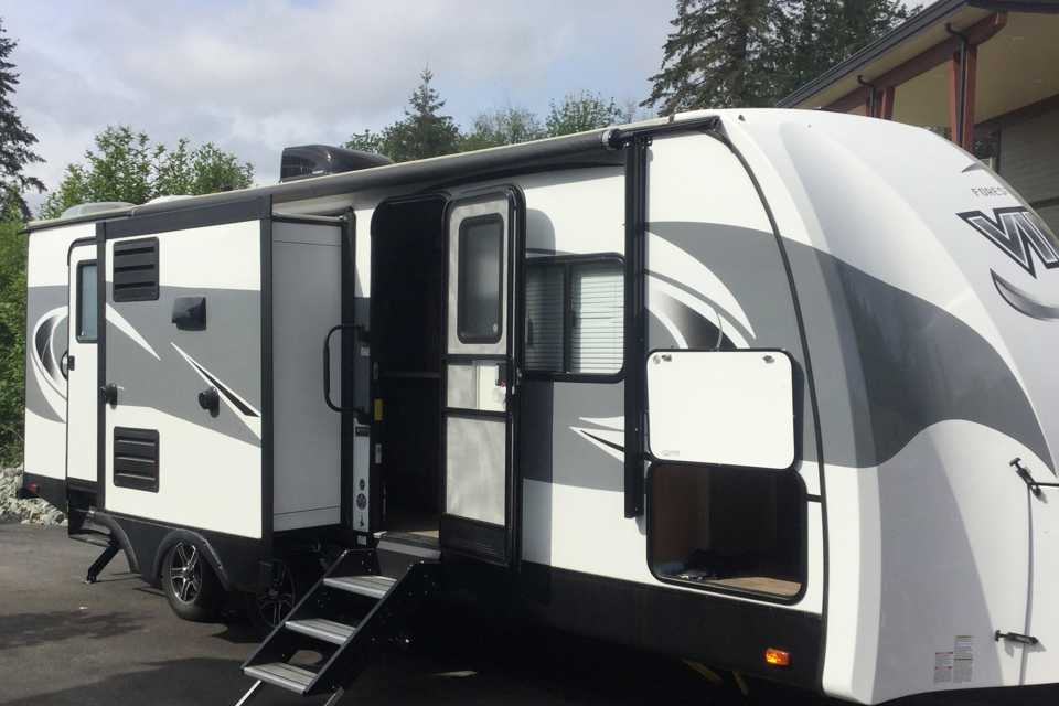 George the travel trailer in Mission, British Columbia