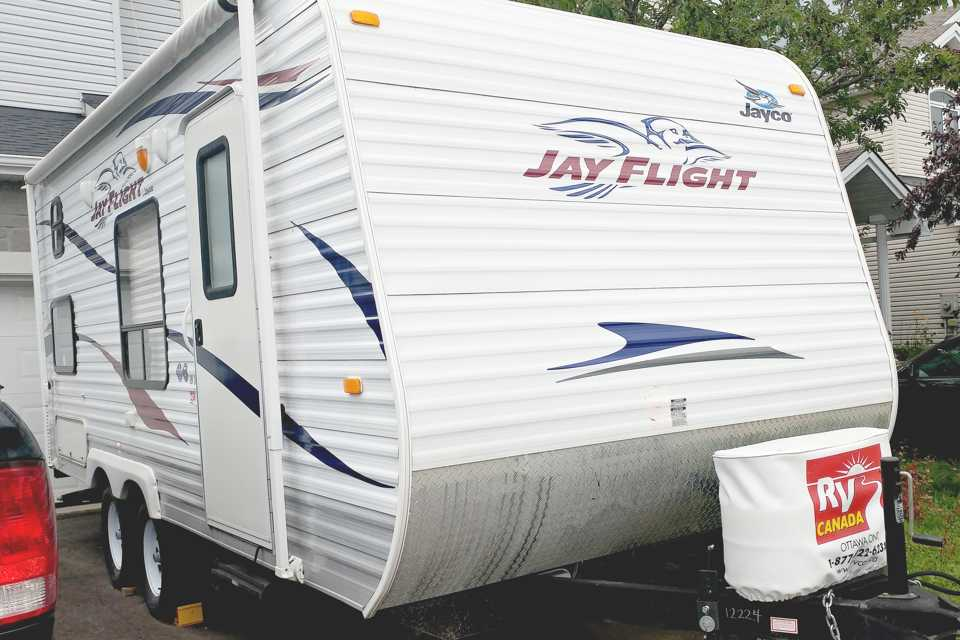 Camping with JAY in Clarence-Rockland, Ontario