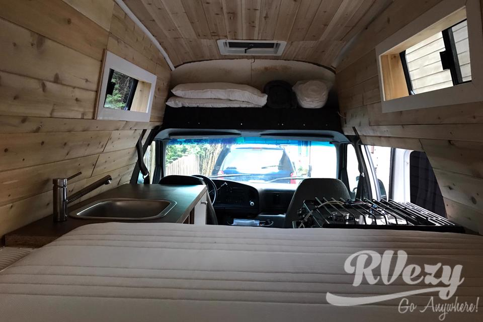 Slater Off-Grid Van in North-Vancouver, British Columbia