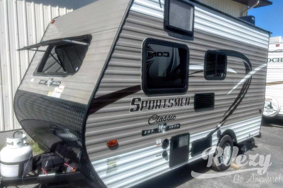 Venture in our 13' Ultra Light-Weight Travel Trailer in Napanee, Ontario