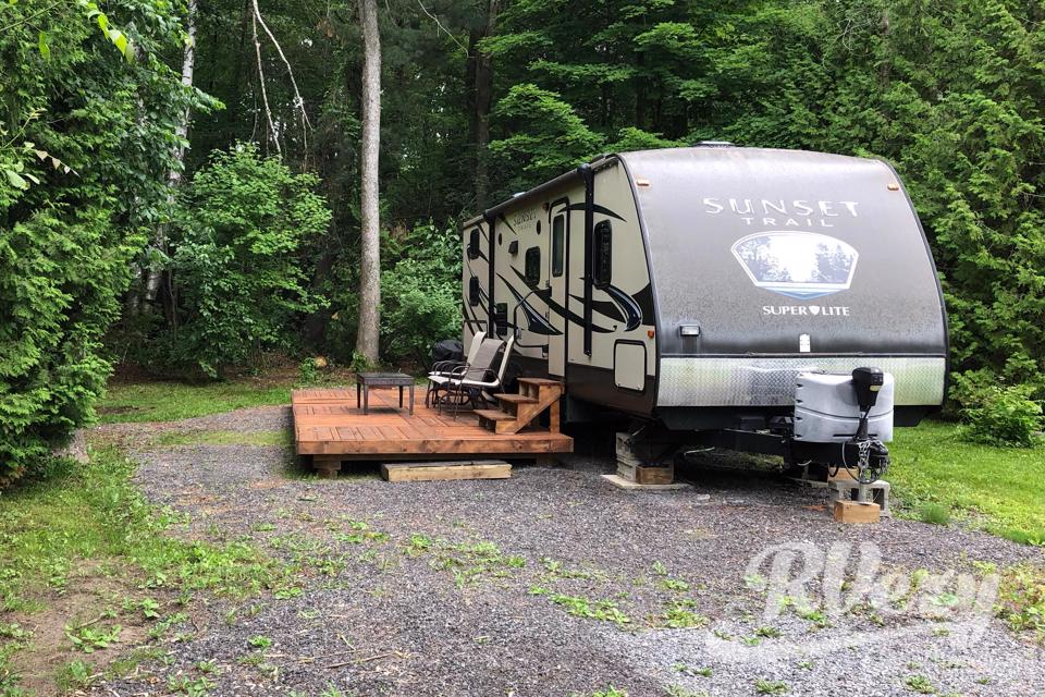 Family Camping in Style in Quinte-West, Ontario