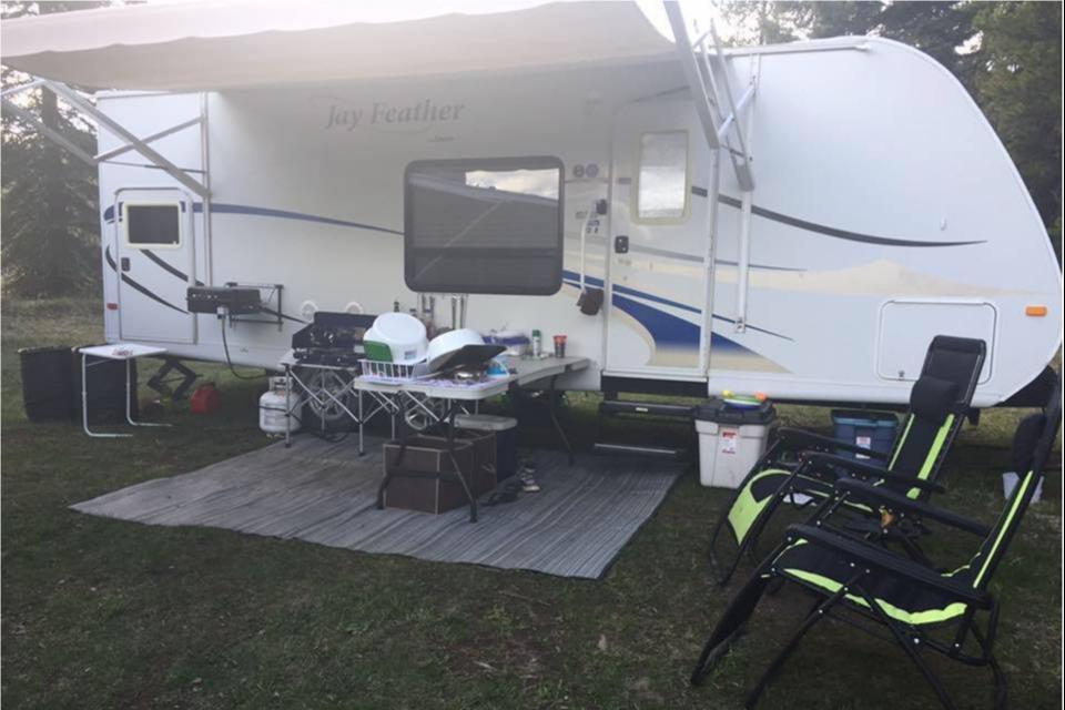 Kim's Cozy Camper in Rimbey-, Alberta