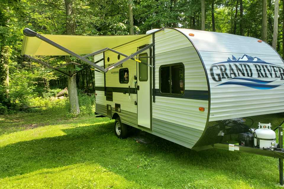 Adventure Camping in Simcoe, Ontario