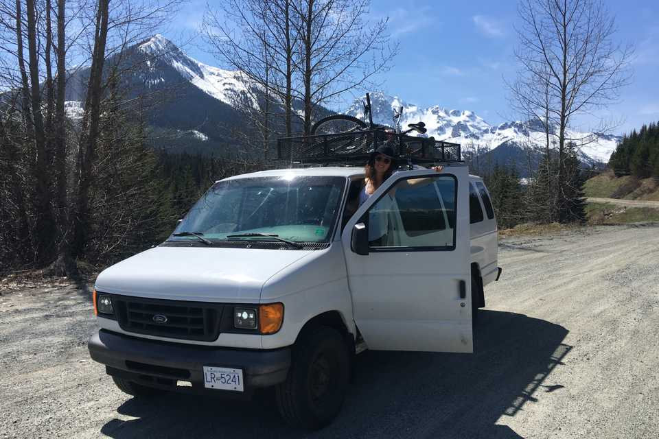 E350 - Ford in Whistler, British Columbia