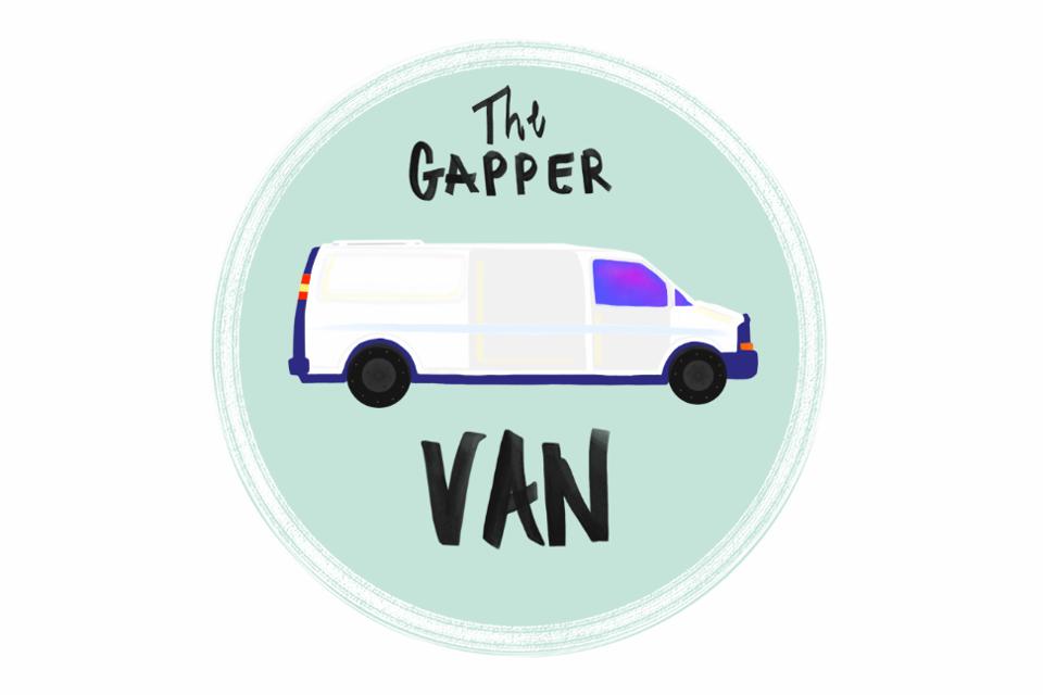 The Gapper Van in Montreal, Quebec