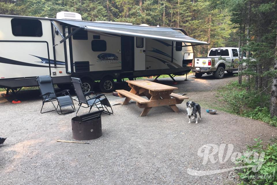 Family friendly glamping in High-River, Alberta