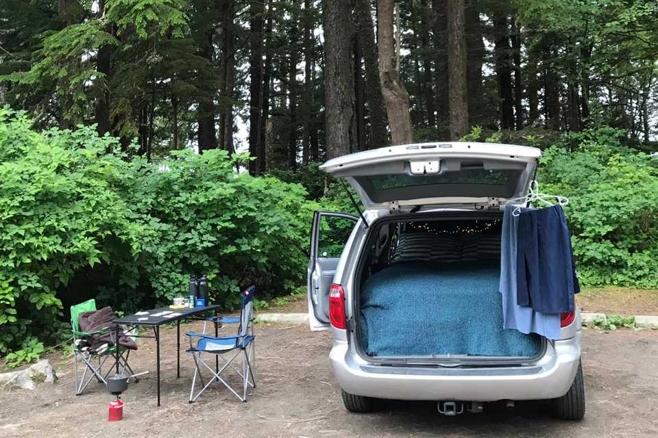 The Silver Camper Caravan Experience. Live Outdoors! in Victoria, British Columbia