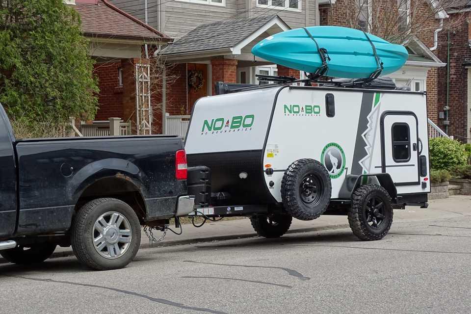 NoBo 10.6 Compact Camper Toy Hauler in the GTA in Toronto, Ontario