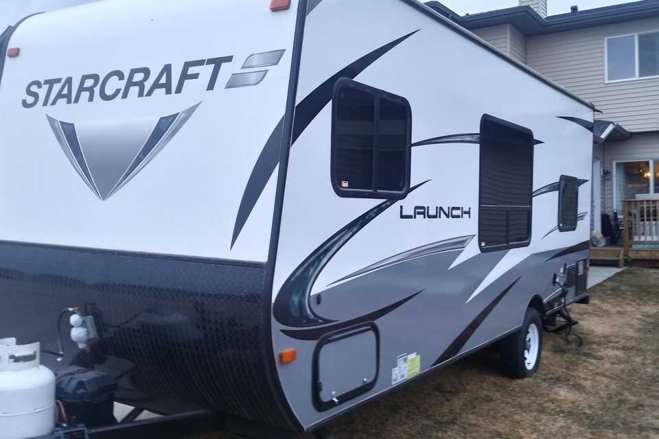 Palomo's RV starcraft in Leduc, Alberta