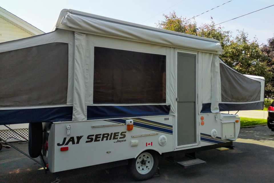 Jayco Jay Series 1006 Tent Trailer in Sussex, New Brunswick