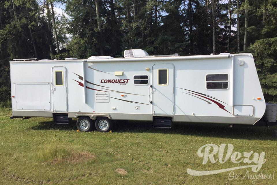 Glamping in Foremost, Alberta