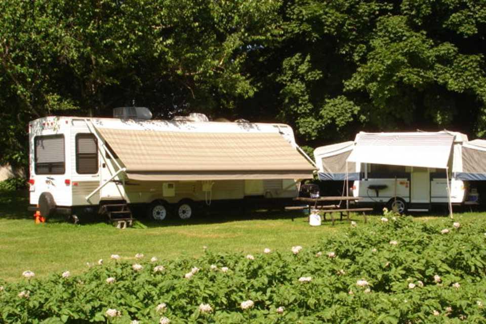 Campland Farms 3 Season RV Rental in Prince-Edward, Ontario