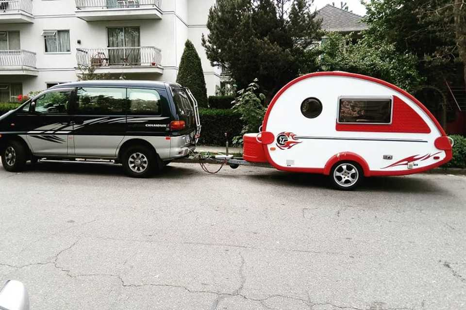 Tab- Lightweight Cute trailer! in Vancouver, British Columbia