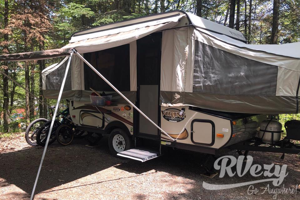Astrid | Full Equip Family Tent Trailer for 4 to 6 persons in Quebec-City, Quebec