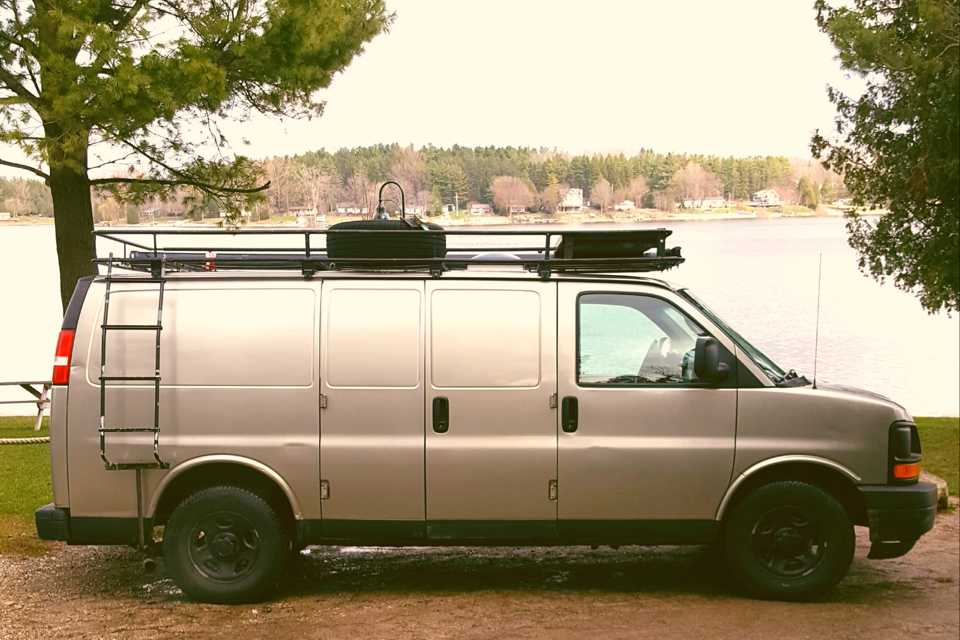 Roadhab Camper Van : Rugged on the Outside, Rustic on the Inside in Missisauga, Ontario