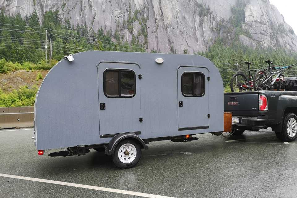 Buttercup: Not Your Average Teardrop in Squamish, British Columbia