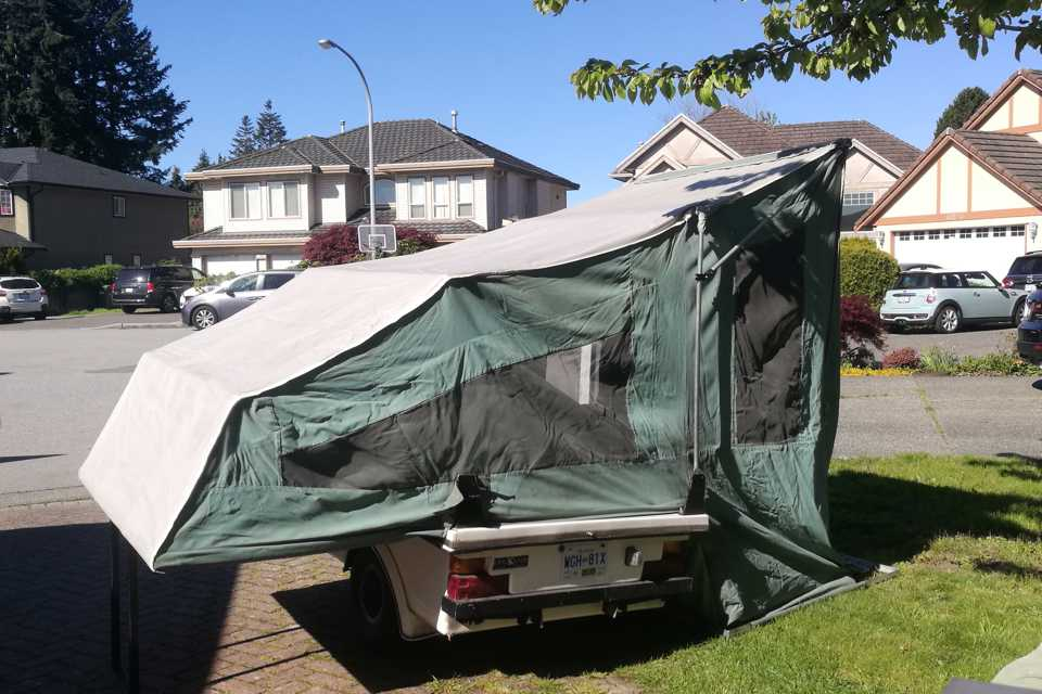 Kwik Kamp Pop Up Tent Trailer in Richmond, British Columbia