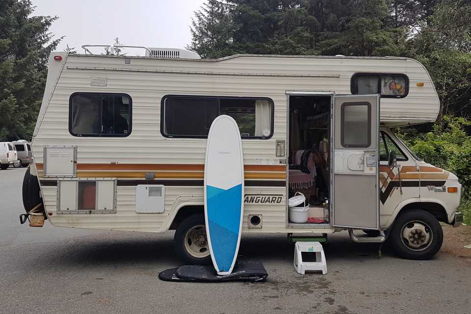 Harvey the Off-Grid RV in North-Vancouver, British Columbia