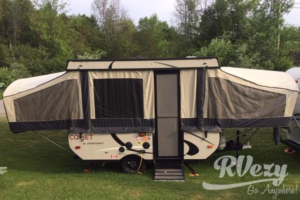 Camping the Comet Way in Ottawa, Ontario