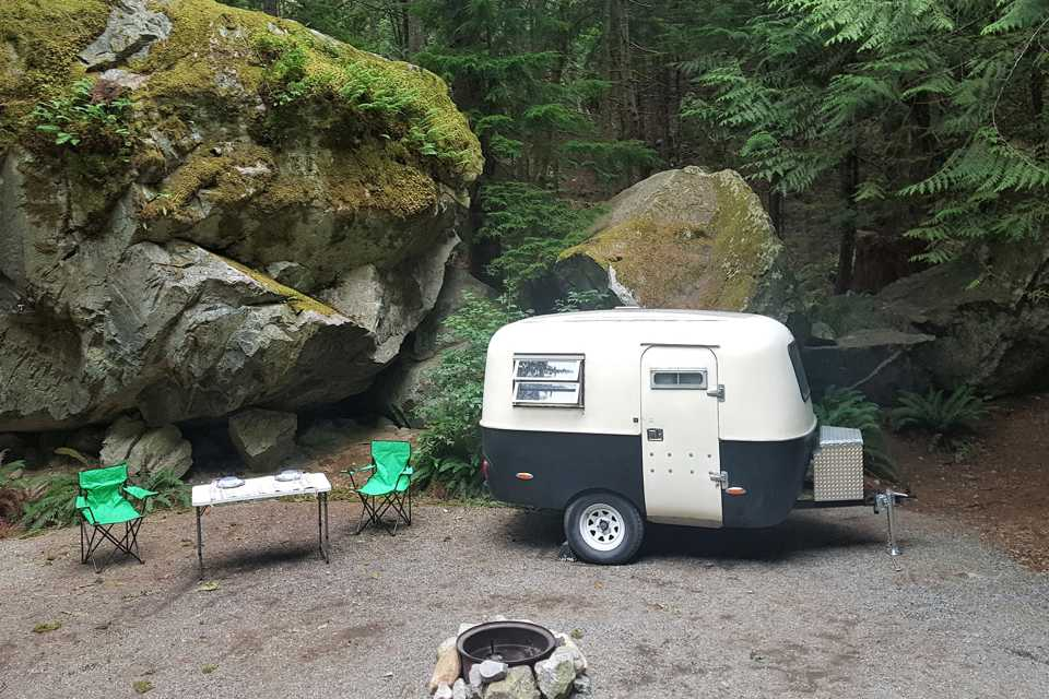 Guinness the Boler in Vancouver, British Columbia