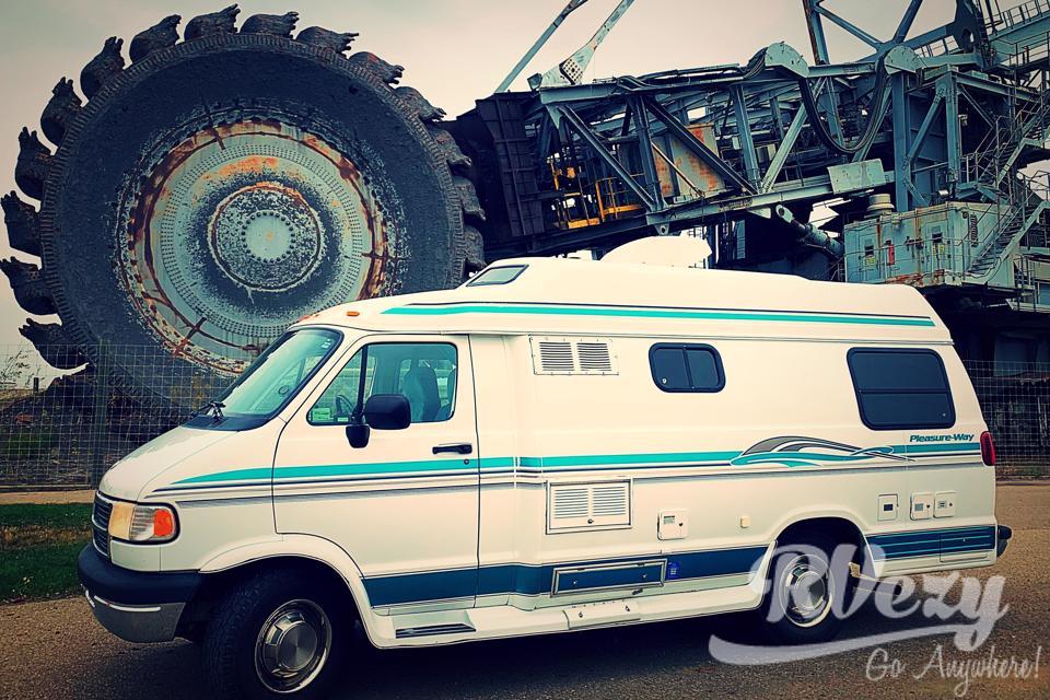 Pleasure Way camper Van (Blue) in Edmonton, Alberta