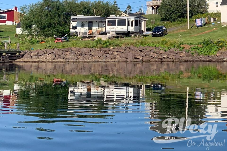 Glamp, kayak and technology with an ocean view in Arichat, Nova Scotia