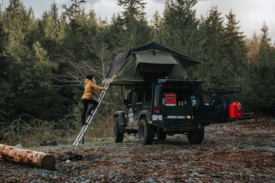 4x4 Overland Jeep fully kitted for any adventure! in Burnaby, British Columbia