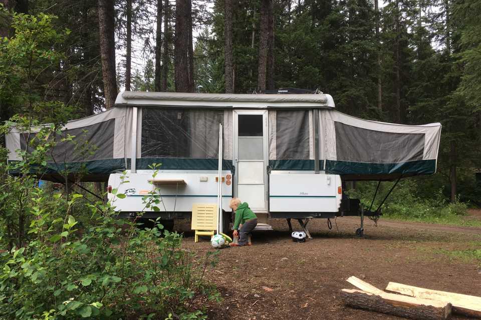 Family Fun Tent Trailer in Invermere, British Columbia