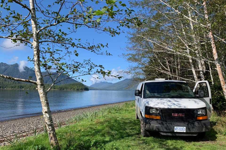 Camper Van in Vancouver, British Columbia
