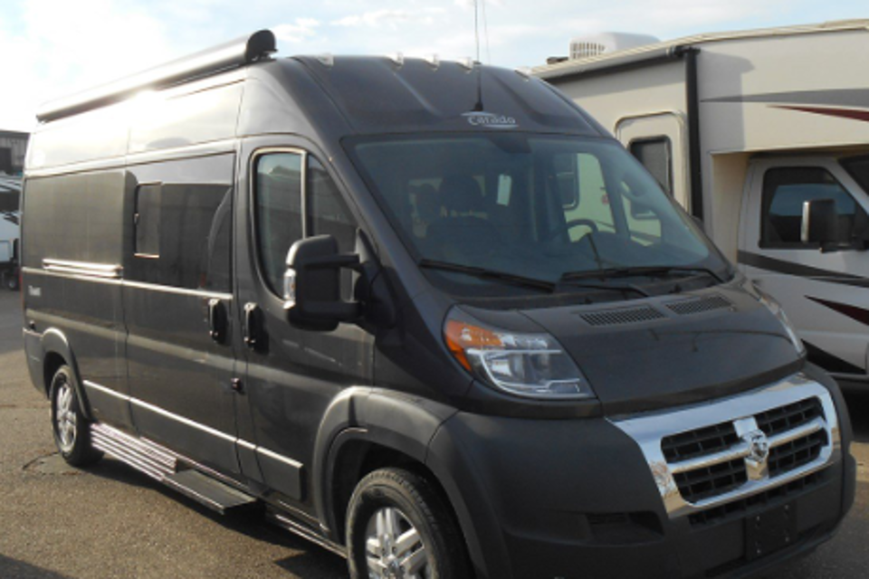 2019 Hymer CamperVan in North-Vancouver, British Columbia