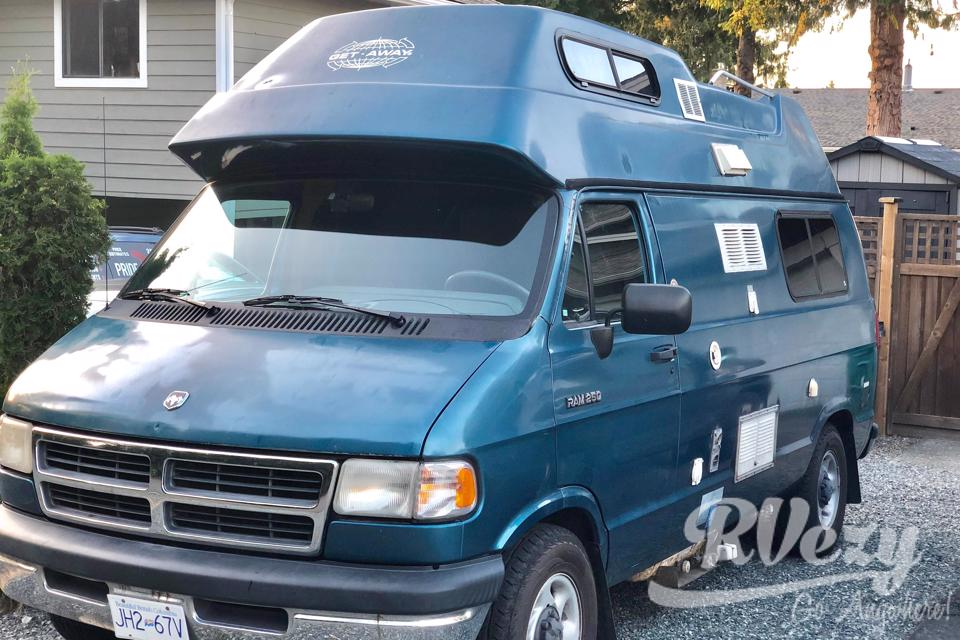 Getaway Van in Nanaimo, British Columbia