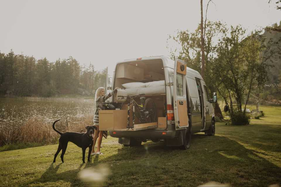 Luxury Off-Grid Sprinter Van in Kelowna, British Columbia