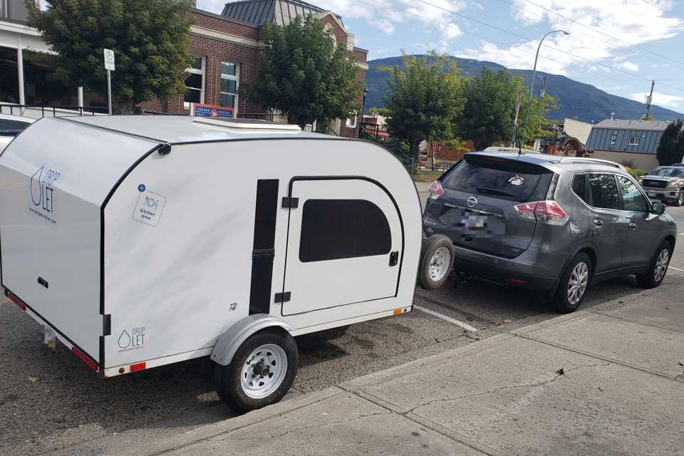 Happy Camper - Droplet Trailer in Burnaby, British Columbia